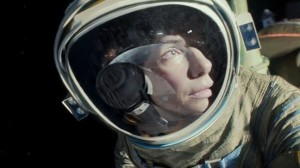 Sandra Bullock as Dr Ryan Stone in Gravity